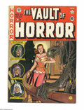 Golden Age (1938-1955):Horror, Vault of Horror #23 (EC, 1952) Condition: VG/FN. Creepy cover artfrom Johnny Craig. Overstreet 2004 VG 4.0 value = $72; FN ...