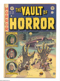 Golden Age (1938-1955):Horror, Vault of Horror #26 (EC, 1952) Condition: FN. Contains black/whiteand color illustrations used in Parade of Pleasure. J...
