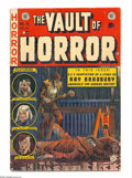 Golden Age (1938-1955):Horror, Vault of Horror #31 (EC, 1953) Condition: VG+. Features RayBradbury biography. Johnny Craig cover art. Graham Ingels, Jack ...