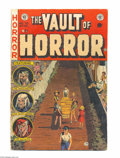 Golden Age (1938-1955):Horror, Vault of Horror #33 (EC, 1953) Condition: VG-. Johnny Craig cover.Reed Crandall, Jack Davis, George Evans, and Graham Ingel...