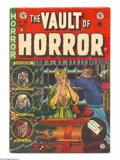 Golden Age (1938-1955):Horror, Vault of Horror #35 (EC, 1954) Condition: VG+. Christmas cover.Johnny Craig cover. Craig, Jack Davis, Graham Ingels, and Ja...