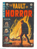 "Golden Age (1938-1955):Horror, Vault of Horror #36 (EC, 1954) Condition: VG-. ""Pipe Dream"" classicopium addict story by Bernie Krigstein. ""Twin Bill"" cite..."