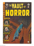 Golden Age (1938-1955):Horror, Vault of Horror #37 (EC, 1954) Condition: FN. First appearance ofDrusilla, a Vampirella look alike. Johnny Craig cover. Cra...