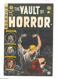Golden Age (1938-1955):Horror, Vault of Horror #39 (EC, 1954) Condition: FN. Bondage cover byJohnny Craig. Craig, Reed Crandall, Graham Ingels, and Bernie...