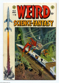 Golden Age (1938-1955):Science Fiction, Weird Science-Fantasy #23 (EC, 1954) Condition: VG/FN. Ray Bradburyadaptation. Wally Wood cover. Wood, Al Williamson, Berna...