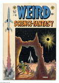 """Golden Age (1938-1955):Science Fiction, Weird Science-Fantasy #24 (EC, 1954) Condition: FN-. FeaturesHarlan Ellison's first professional story, """"Upheaval!"""", later ..."""
