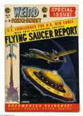 Golden Age (1938-1955):Science Fiction, Weird Science-Fantasy #26 (EC, 1954) Condition: FN+. Special FlyingSaucer Report issue, all incidents based on true stories...