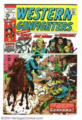 Bronze Age (1970-1979):Western, Western Gunfighters #1 (Marvel, 1970) Condition: NM-. Ghost Rider (Western character) appears. Jack Kirby art. Overstreet 20...