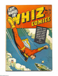 Golden Age (1938-1955):Superhero, Whiz Comics #23 (Fawcett, 1941) Condition: FN. George Tuska art. Overstreet 2004 FN 6.0 value = $207....