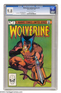 Modern Age (1980-Present):Superhero, Wolverine (limited series) #4 (Marvel, 1982) CGC NM/MT 9.8Off-white to white pages. Frank Miller cover and art. ChrisClare...
