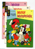 Golden Age (1938-1955):Cartoon Character, Woody Woodpecker Group File Copies (Gold Key, 1966-73) Condition:Average VF+. This group contains issues #92, 116, 125, 126...(Total: 7 Comic Books Item)