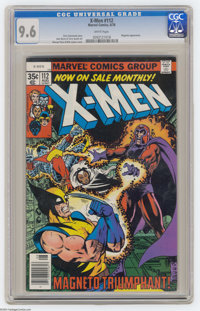 X-Men #112 (Marvel, 1978) CGC NM+ 9.6 White pages. Magneto appearance. George Perez and Bob Layton cover. John Byrne and...