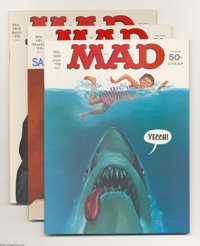 Mad Group (EC, 1976-78) Condition: Average NM-. This group includes #180 (two copies), 181, 182, 183 (two copies), 184...