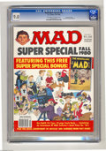 Modern Age (1980-Present):Humor, Mad Super Special #32 Gaines File copy (EC, 1980) CGC VF/NM 9.0Off-white to white pages. Includes Nostalgic Mad #8. Has 96 ...