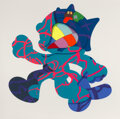 Prints & Multiples, KAWS (b. 1974). Ankle Bracelet, 2017. Silkscreen in colors on paper. 58 x 58 inches (147.3 x 147.3 cm) (sheet). Ed. 15/5...