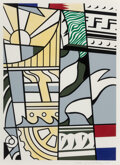 Prints & Multiples, Roy Lichtenstein (1923-1997). Bicentennial Print, from America: The Third Century, 1975. Lithograph and screenprint ...