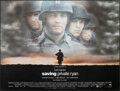 "Movie Posters:War, Saving Private Ryan (Paramount, 1998). Rolled, Very Fine+. British Quad (30"" X 40""). War.. ..."
