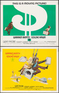 """Movie Posters:Crime, $ (Dollars) & Other Lot (Columbia, 1971). Rolled, Very Fine-. Half Sheets (4) (22"""" X 28"""") 2 Styles. Crime.. ... (Total: 4 Items)"""