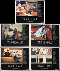 Annie Hall & Other Lot (United Artists, 1977). Very Fine/Near Mint. Lobby Cards (5) & Lobby Card Set of 8 (11&qu...