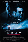 """Movie Posters:Crime, Heat (Warner Bros., 1995). Rolled, Very Fine-. One Sheet (27"""" X 40.25"""") DS. Crime.. ..."""