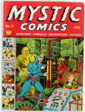 Golden Age (1938-1955):Superhero, Mystic Comics #3 (Timely, 1940) Condition: GD+....
