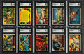 Non-Sport Cards:Sets, 1962 Topps Mars Attacks Partial Set (30/55)....