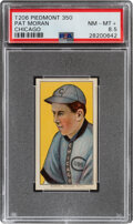 Baseball Cards:Singles (Pre-1930), 1909-11 T206 Piedmont 350 Pat Moran (Chicago) PSA NM-MT+ 8.5 Pop One, None Higher With This Brand & Series. ...