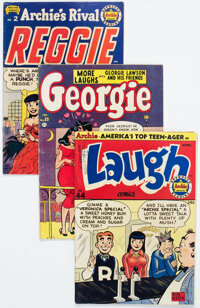 Golden Age Humor Comics Group of 10 (Various Publishers, 1950s) Condition: Average VG.... (Total: 10 Comic Books)