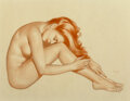 Works on Paper, Alberto Vargas (Peruvian/American, 1896-1982). Jean, circa 1944. Watercolor on paper. 22 x 29 inches (55.9 x 73.7 cm). S...