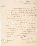 Autographs:U.S. Presidents, George Washington Revolutionary War Letter Signed ...