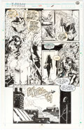 Original Comic Art, Greg Capullo and Richard Bennett X-Force #24 Story Page 11 Original Art (Marvel, 1993)....