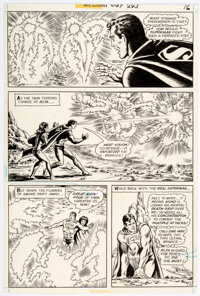 Curt Swan and Murphy Anderson Superman #243 Story Page 15 Original Art (DC, 1971)