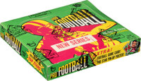1971 Topps Football Series 2 Wax Box With 24 Unopened Packs - Terry Bradshaw Rookie Year!