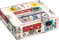 1979-80 O-Pee-Chee Hockey Wax Box With 48 Unopened Packs - Gretzky Rookie Year!