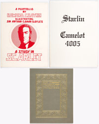 Jim Starlin Camelot 4005 and Others Limited Edition Portfolios Group of 3 (Various Publishers, c. 1970s)... (Total: 3 It...