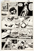 Original Comic Art, Bill Sienkiewicz and Frank Giacoia Moon Knight #8 Story Page 9 Original Art Marvel, 1981)....