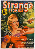 Pulps:Horror, Strange Stories - October 1940 (Better Publications) Condition: VG....