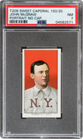 Baseball Cards:Singles (Pre-1930), 1909-11 T206 Sweet Caporal 150/30 John McGraw (Portrait-No Cap) PSA NM 7 - Pop One, One Higher With This Brand/Series/Factory ...