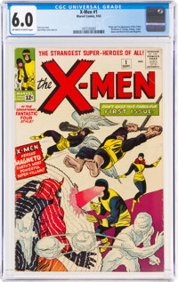 X-Men #1 (Marvel, 1963) CGC FN 6.0 Off-white to white pages