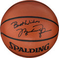 Basketball Collectibles:Balls, 1990's Michael Jordan Single Signed Basketball from the Robert C. Scarpetti Collection....