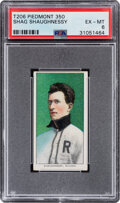 Baseball Cards:Singles (Pre-1930), 1909-11 T206 Piedmont 350 Shag Shaughnessy PSA EX-MT 6 - Only Two Higher With This Brand & Series. ...