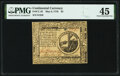 Continental Currency May 9, 1776 $2 PMG Choice Extremely Fine 45