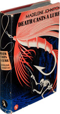 Books:Mystery & Detective Fiction, Madeleine Johnston. Death Casts a Lure. New York: Crime Club, 1938. First edition. ...