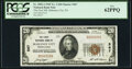 National Bank Notes:Pennsylvania, Mahanoy City, PA - $20 1929 Ty. 1 The First National Bank Ch. # 567 PCGS New 62PPQ.. ...