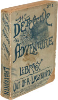 Books:Mystery & Detective Fiction, Lawrence L. Lynch. Out of a Labyrinth. Chicago: Alex T. Loyd, 1889. First edition. ...