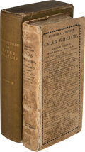 Books:Mystery & Detective Fiction, William Godwin. Things As They Are; or, the Adventures of Caleb Williams. London: S. Fisher, 1824. The rare Fisher e...