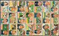 Baseball Cards:Sets, 1956 Topps New York Yankees Team Near Set (21). ...