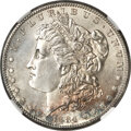 Morgan Dollars, 1884-S $1 MS63+ NGC....