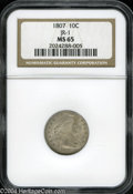 Early Dimes: , 1807 MS65 JR-1 NGC. The current Coin Dealer Newsletter (...