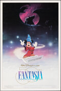 "Movie Posters:Animation, Fantasia (Buena Vista, R-1990). Rolled, Very Fine-. 50th Anniversary One Sheet (27"" X 41"") DS. Animation.. ..."
